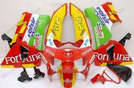 Honda CBR900RR 919 1998-1999 Carénage ABS - Fortuna - rouge/jaune