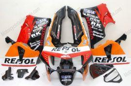 Honda CBR900RR 919 1998-1999 Carénage ABS - Repsol - orange/rouge/noir