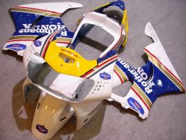 Honda CBR900RR 919 1998-1999 Carénage ABS - Rothmans - blanc/jaune/bleu