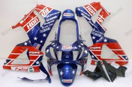 Honda CBR900RR 929 2000-2001 Carénage ABS - Castrol - bleu/rouge
