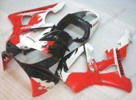Honda CBR900RR 929 2000-2001 Carénage ABS - Erion Racing - blanc/noir/rouge