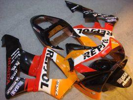 Honda CBR900RR 929 2000-2001 Carénage ABS - Repsol - orange/noir