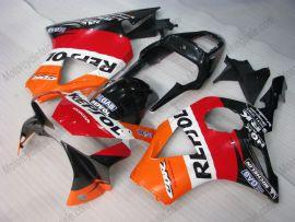 Honda CBR900RR 954 2002-2003 Carénage ABS Injection - Repsol - orange/noir/rouge