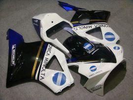 Honda CBR900RR 954 2002-2003 Carénage Race ABS Injection - Konica Minolta - blanc/noir