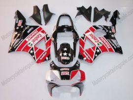 Honda CBR900RR 954 2002-2003 Carénage ABS Injection - Castrol - noir/rouge