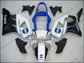Honda CBR900RR 954 2002-2003 Carénage ABS - Konica Minolta - blanc/noir