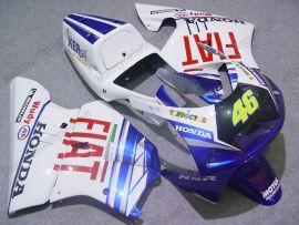 Honda NSR250 MC21 P3 Carénage ABS Injection - FIAT - blanc/bleu