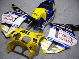 Honda RVF400R NC35 1994-1998 Carénage ABS - Nastro Azzurro - bleu/blanc/jaune