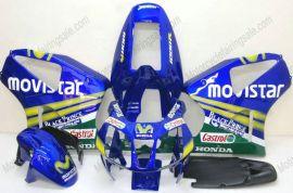 Honda VTR1000 RC51 2000-2006 Carénage ABS - Movistar - bleu