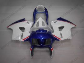 Honda VFR800 1998-2001 Carénage ABS - Factory Style - bleu/blanc