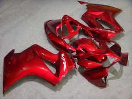 Honda VFR800 2002-2013 Carenage ABS - autres - tout rouge