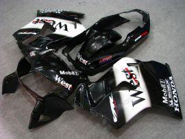 Honda VFR800 1998-2001 Carénage ABS - West - noir/blanc