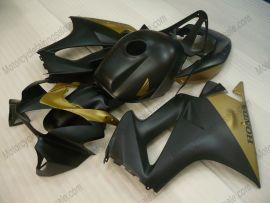 Honda VFR800 2002-2009 Carénage ABS Injection - Factory Style - noir/doré