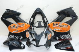Honda VFR800 2002-2013 Carénage ABS Injection - HM plant - noir