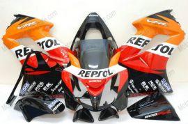 Honda VFR800 2002-2013 Carénage ABS Injection - Repsol - orange/noir/rouge