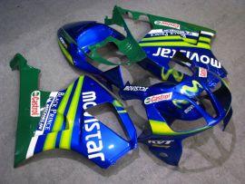 Honda VTR1000 RC51 2000-2006 Carénage ABS - Movistar - bleu/vert