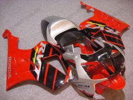 Honda VTR1000 RC51 2000-2006 Carénage ABS - Racing - rouge/noir/argent