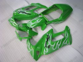 Honda VTR1000F 1997-1998 Carénage ABS - Flame blanc - vert