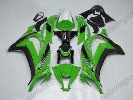 Kawasaki NINJA ZX10R 2011-2015 Carénage ABS Injection - Factory Style- vert/noir