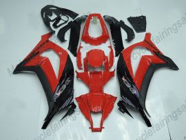 Kawasaki NINJA ZX10R 2011-2015 Carénage ABS Injection - Factory Style- rouge/noir