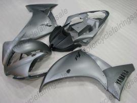 Yamaha YZF-R1 2012-2014 Carénage ABS Injection - Factory Style - gris/noir