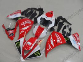 Yamaha YZF-R1 2012-2014 Carénage ABS Injection - MAXXIS - rouge/blanc/noir