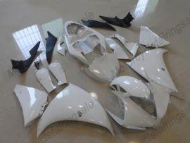 Yamaha YZF-R1 2012-2014 Carénage ABS Injection - Factory Style - blanc/noir