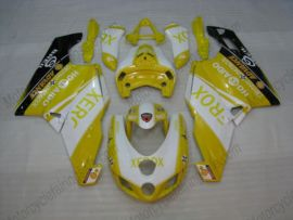 Ducati 749 / 999 2005-2006 Carénage ABS Injection - Xerox - jaune/blanc