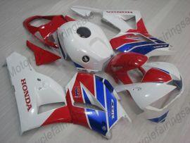 Honda CBR 600RR F5 2013-2019 Carénage ABS Injection - Factory Style- blanc/rouge/bleu