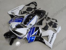 Honda CBR 600RR F5 2013-2019  Carénage ABS Injection - Factory Style- blanc/bleu/noir