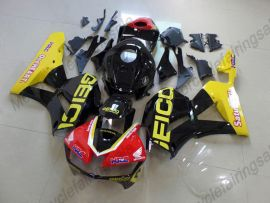 Honda CBR 600RR F5 2013-2019 Carénage ABS Injection - Factory Style- jaune/noir/rouge