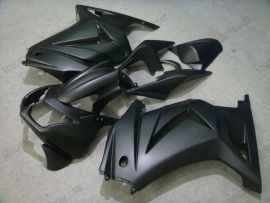 Kawasaki NINJA EX250 2007-2009 Carénage ABS Injection - Factory Style - tout noir(matte)