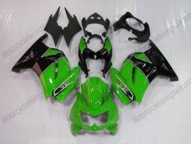 Kawasaki NINJA EX250 2007-2009 Carénage ABS Injection - autres - vert/noir