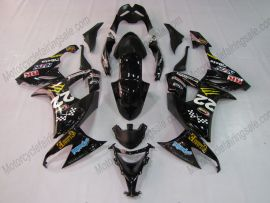 Kawasaki NINJA ZX10R 2008-2010 Carénage ABS Injection - Monster - noir