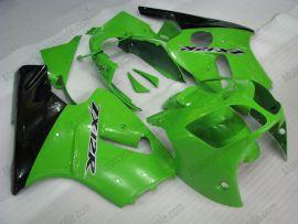 Kawasaki NINJA ZX12R 2000-2001 Carénage ABS - autres - vert/noir