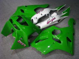Kawasaki NINJA ZX6R 1994-1997 Carénage ABS - autres - vert/blanc