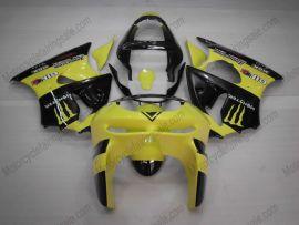 Kawasaki NINJA ZX6R 1998-1999 Carénage ABS - Monster - jaune/noir