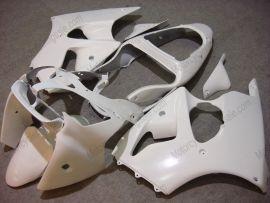 Kawasaki NINJA ZX6R 2000-2002 Carénage ABS Injection - Factory Style - tout blanc