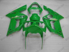 Kawasaki NINJA ZX6R 2003-2004 Carénage ABS Injection - autres - vert