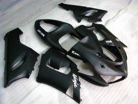 Kawasaki NINJA ZX6R 2005-2006 Carénage ABS Injection - autres - tout noir(matte)
