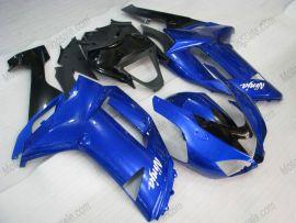 Kawasaki NINJA ZX6R 2007-2008 Carénage ABS Injection - autres - bleu/noir