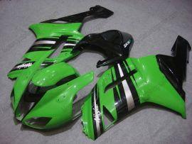 Kawasaki NINJA ZX6R 2007-2008 Carénage ABS Injection - autres - vert/noir