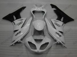 Kawasaki NINJA ZX6R 2009-2012 Carénage ABS Injection - autres - blanc/noir