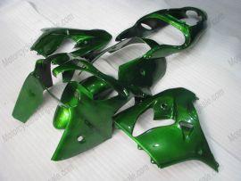 Kawasaki NINJA ZX9R 2000-2001 Carénage ABS - Factory Style - tout vert