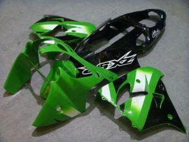 Kawasaki NINJA ZX9R 2000-2001 Carénage ABS - autres - vert/noir