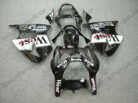 Kawasaki NINJA ZX9R 2000-2001 Carénage ABS - West - noir/blanc