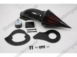 Honda Shadow VLX600 kit pic de moto de filtre à air -1999 jusqu'à - noir
