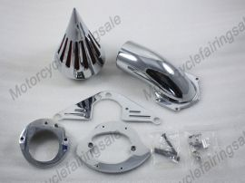 Yamaha nouvelle moto étoiles routier 1600/1700 pic kit de filtre à air - chrome