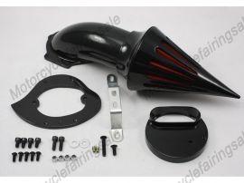 Yamaha moto nouvelle V-Star 1100 pointe filtre à air kit filtre d'aspiration - Noir