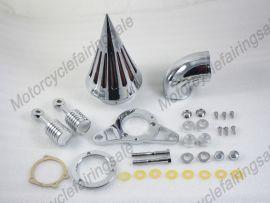 Harley Softail Night Train Fat Boy EFI 2001-2007 air kit filtre de nettoyage nouveau -Chrome